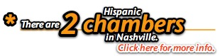 how many Hispanic chambers are there in Nashville?